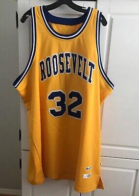 EUC Dr. J Julius Erving Roosevelt 32 Jersey SZ 56 NBA Hardwood Classics 58 of 75