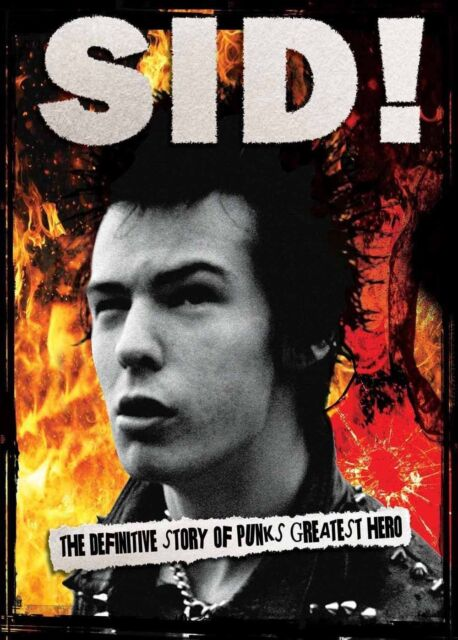 Sid Vicious 'By those who knew Him'   (Brand New DVD)  Punk Sex Pistols