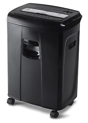 Aurora Au1250xb 12-sheet Crosscut Paper And Credit Card Shredder With Pullout Ba