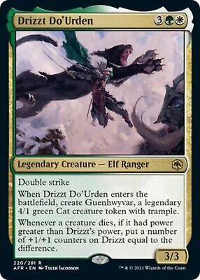 FOIL Drizzt Do'Urden 220/281 - Adventures in the Forgotten Realm