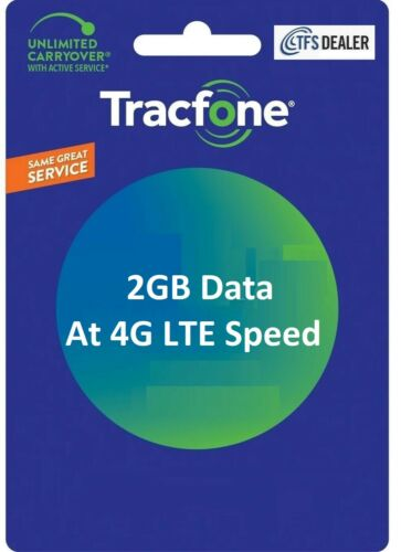 TracFone 2GB Data Add On for SmartPhone,Loaded Directly -- Fast & Right