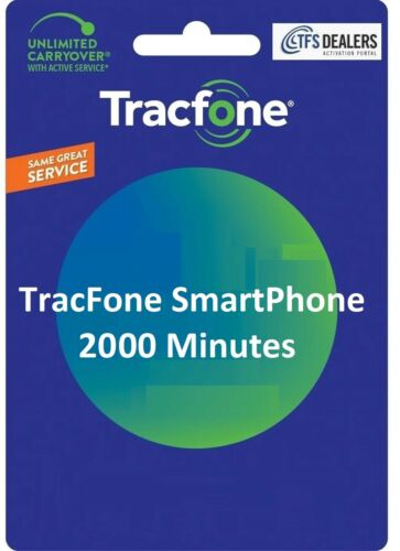 TracFone 2000 Minutes For Smart Phones
