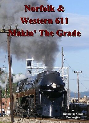 Train DVD: Norfolk & Western 611 In The Blue Ridge Mountains, 2016