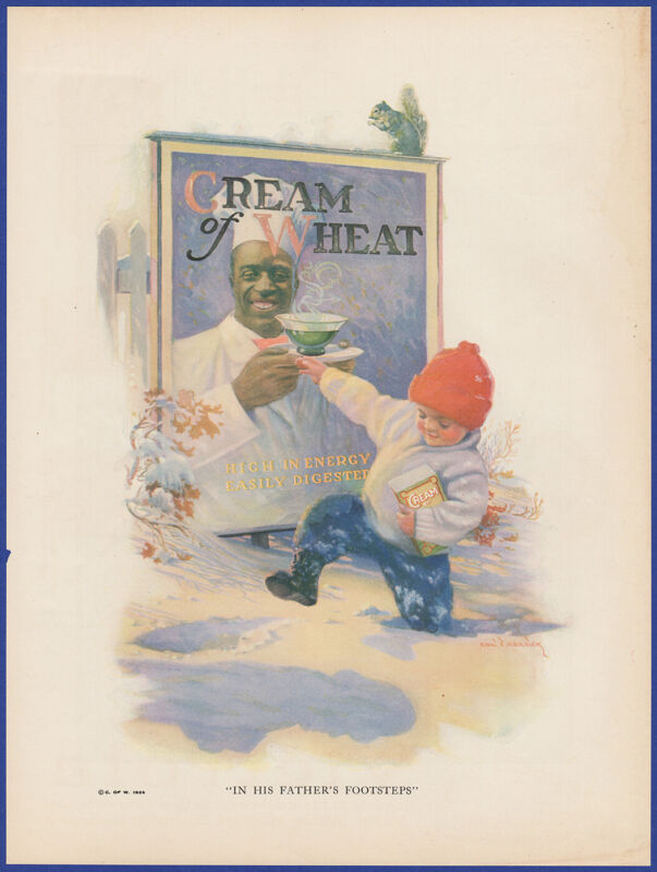 Vintage 1924 CREAM OF WHEAT His Father