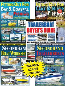 Trailerboat Buyer's Guides 5 Pack: Reviews Savage, Haines Hunter Southport Gold Coast City Preview