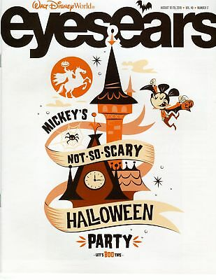 Mickey's Not So Scary Halloween Disney World Cast Member Exclusive Eyes & Ears - Not So Scary Halloween Disney World