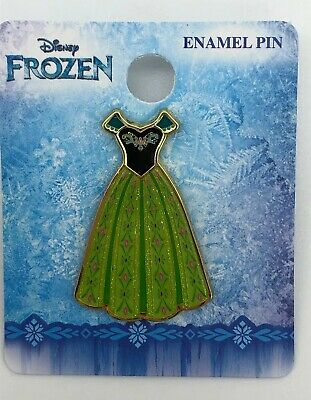Disney Loungefly Frozen 2 Princess Anna Green Coronation Day Dress Trading Pin - Anna Coronation Day Dress