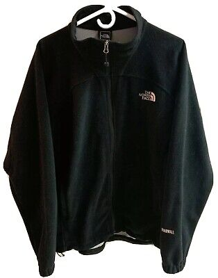 The North Face Mens Large Windwall Fleece Jacket Black