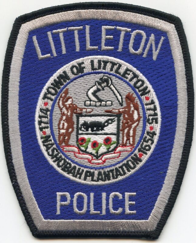 LITTLETON MASSACHUSETTS MA POLICE PATCH