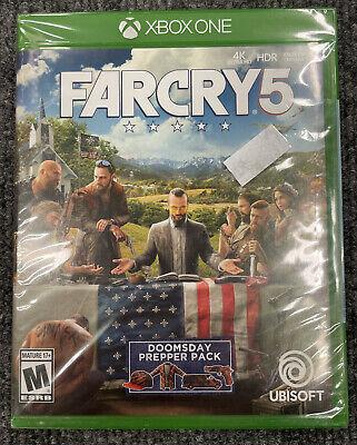 NEW Far Cry 5 XBox One Standard Edition Farcry SEALED