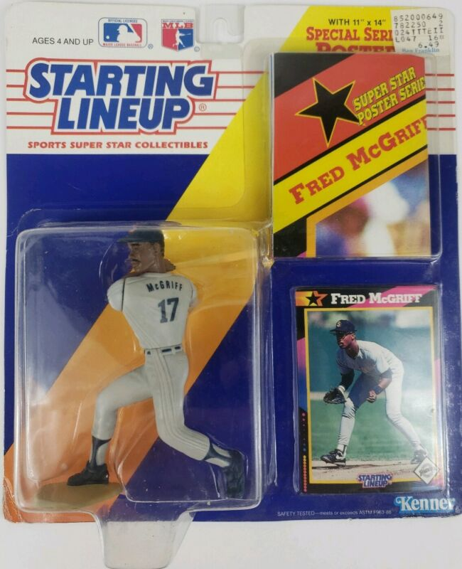A Starting Lineup - 1995  MIKE PIAZZA L SLU EXT Loose Figurine Dodgers