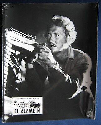 Kinoaushangfoto Die schwarzen Teufel von El Alamein / Sea of Sand   Vincent Ball