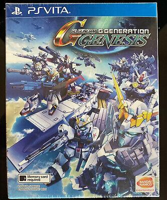 SD Gundam G Generation Genesis | PS Vita | Asian English | New & Sealed | MINT comprar usado  Enviando para Brazil