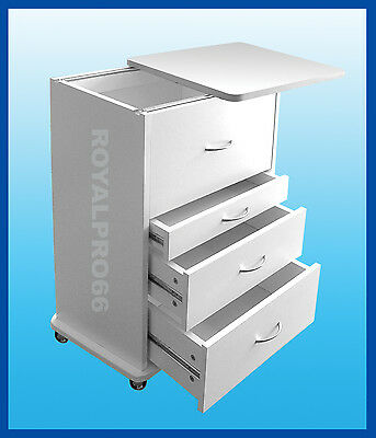 Medical Dental Equipment Alabama Assistants Mobile Cabinet Cart White