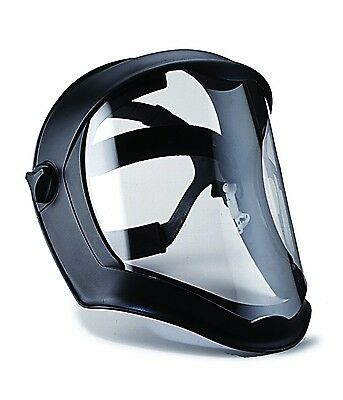 Shield Bionic Face Clear Anti Fog Black Matte Polycarbonate Lens Eye Protection