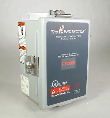 Used Innovative Technology Ptx080-1p101 It Transient Voltage Surge Protector J11