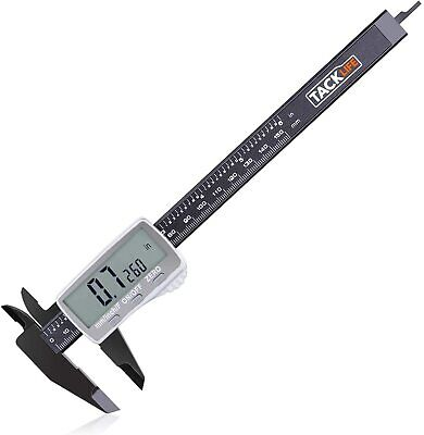 Digital Caliper 6 Inch With Larger Lcd Display Inchfractionsmillimeter Conver