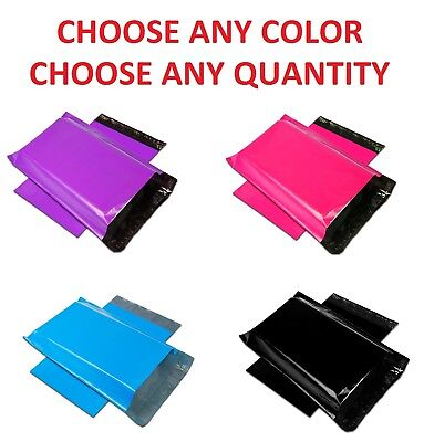12x15.5 Color Poly Mailers Shipping Envelopes Self Sealing Mailing Bags 12x15
