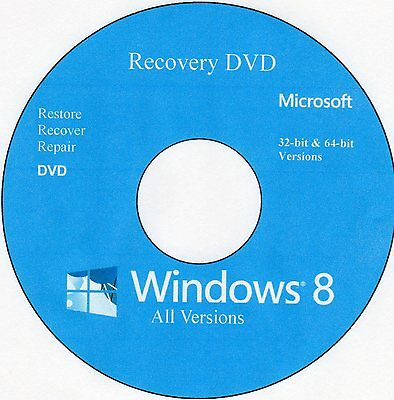 Операционная система Windows 8 Recovery DVD