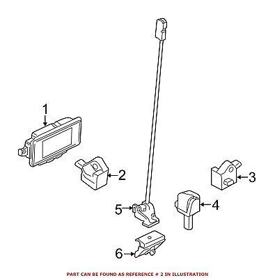 For BMW Genuine Air Bag Impact Sensor Front 65779196042