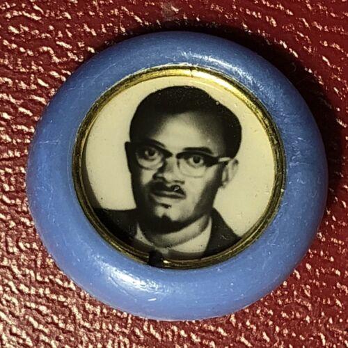 Congo Africa African Leader Patrice Lumumba 1958 - 1961 pin badge - RARE!