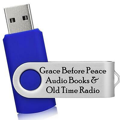 BEST Max Brand Collection 17 MP3 Audio Books on 1 USB Flash Drive Home or (Best Usb Drive Brand)