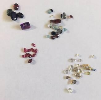 Assorted precious and non-precious gems