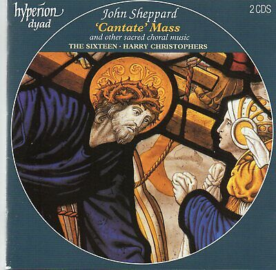 John Sheppard - 'Cantate' Mass And Other Sacred Choral Music 2 CD - The Sixteen
