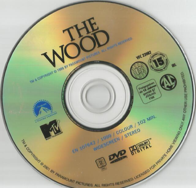 The Wood (Taye Diggs, Omar Epps) - DVD - ohne Cover #233