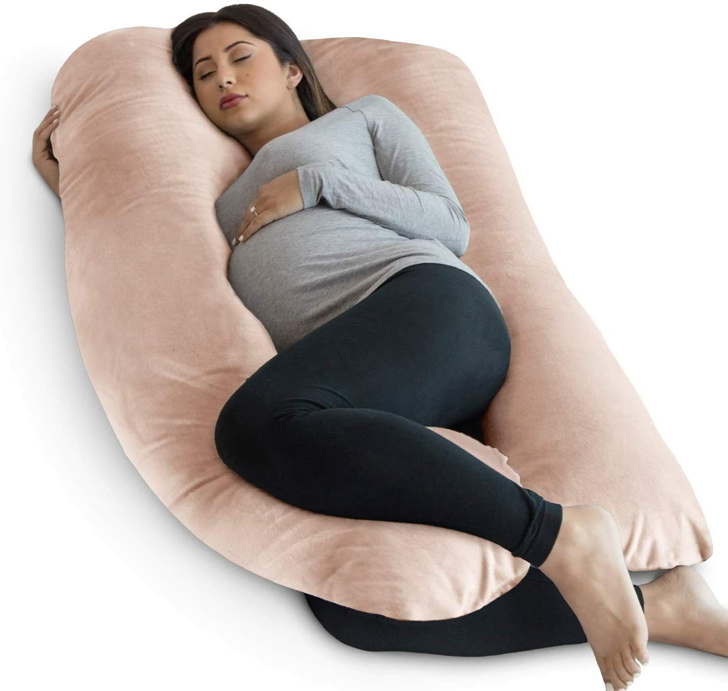 Pregnancy Pillow U-Shape Full Body Pillow Maternity Support
