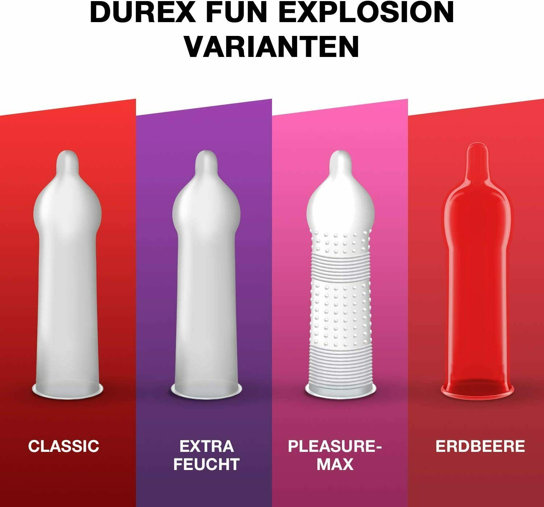 Durex Love Collection Kondome in stylischer Box Präservative Verhütung 30 Stück