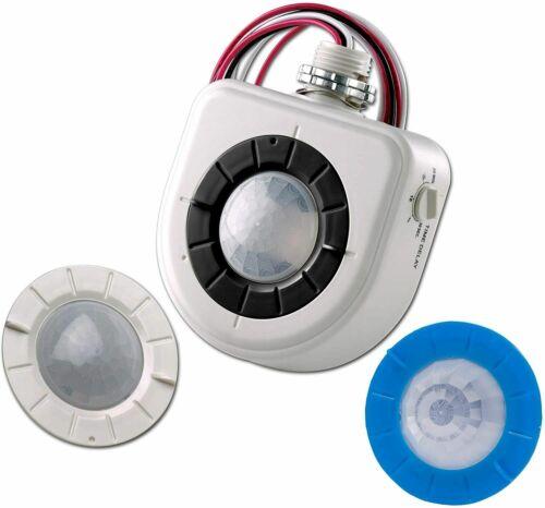 Leviton OSFHU-ITW High Bay Occupancy Sensor - PIR, 8-40