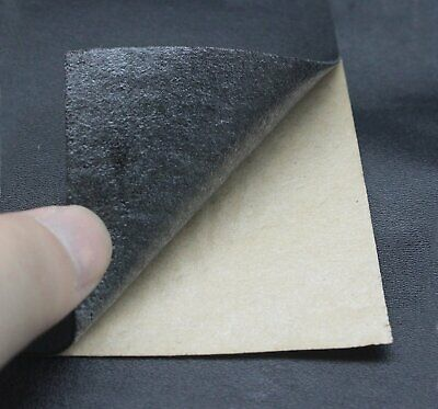 6 Pack Adhesive Backing Leather Patch Kit Seat Sofa Repair Jackets Handbag Black - $12.13