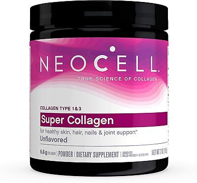 NEOCELL Super Collagen Powder Types 1 & 3 (7 oz) for Hair, Skin, Nails & Bones