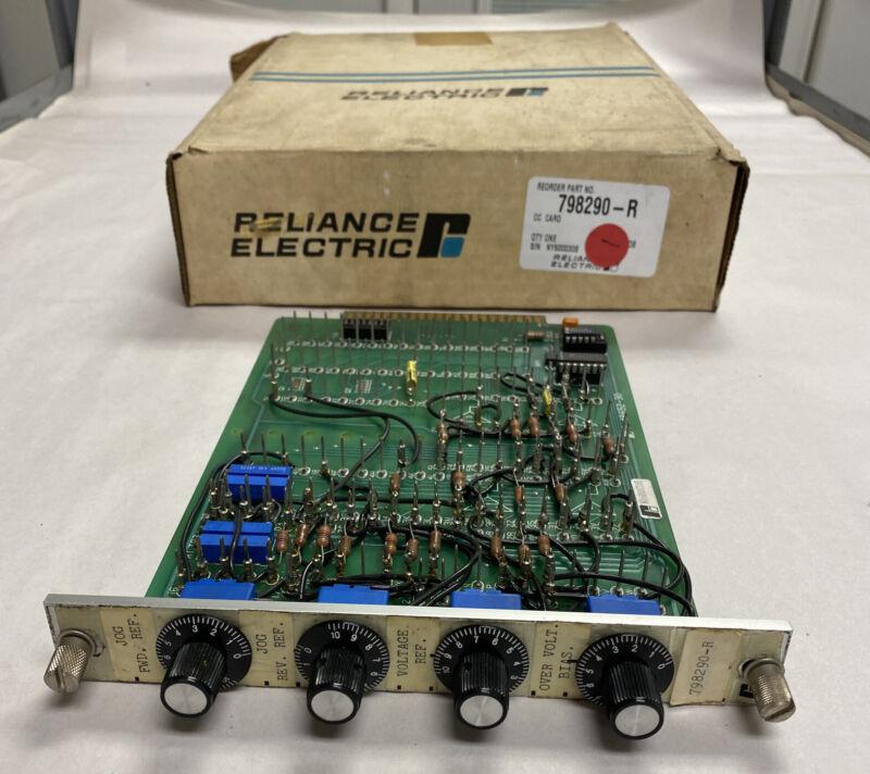 Reliance 798290-r Cc Card