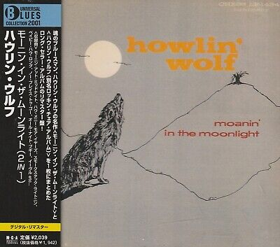 HOWLIN WOLF - MOANIN IN THE MOONLIGHT + HOWLIN WOLF. JAPAN.REMASTER.2 IN 1