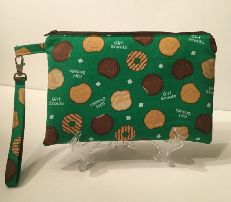 Girl Scout Themed Wristlet Purse