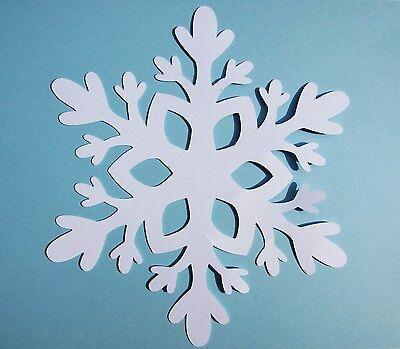 Snowflake paper die cuts paper snowflake cutouts  white snowflakes 25 pc](Snowflake Paper)