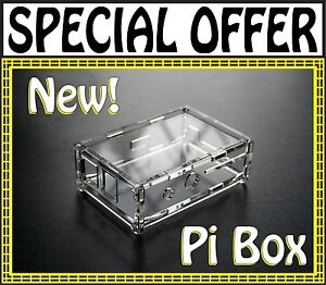 Pi-Box-Case-Box-Enclosure-for-Raspberry-Pi-Computer-New-From-PiWorks