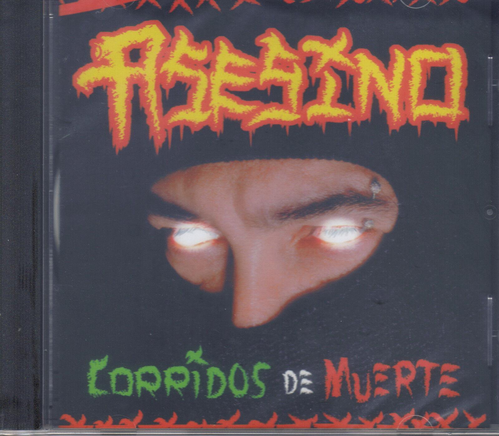 Asesino-corridos De Muerte-cd-re-issue-death-grindcore-brujeria-divine Heresy