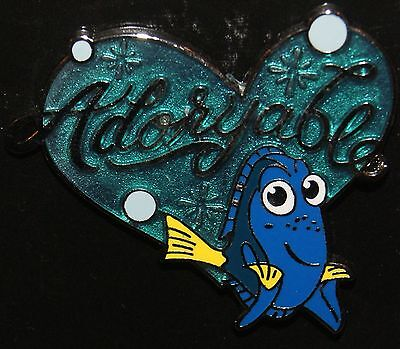 DISNEY 2016 FINDING NEMO DORY ADORYABLE PIN NEW ON ORIGINAL CARD READY TO SHIP