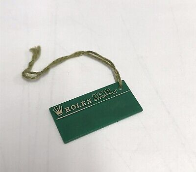 ROLEX Vintage Green Tag Hangtag Oyster Swimpruf P708574 Air King AIRKING 14000