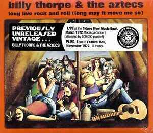 Billy Thorpe & The Aztecs - Long Live Rock and Roll - Digipak CD - Free Postage