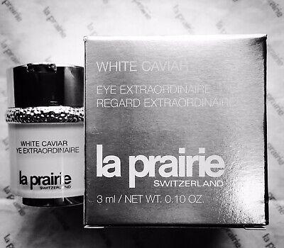 La Prairie White Caviar Eye Extraordinaire Travel Size 0.10 fl oz/ 3 ml EXP 2022