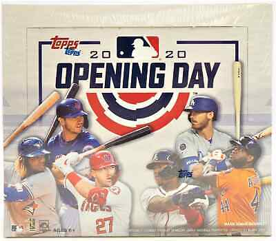 2020 TOPPS OPENING DAY BASEBALL HOBBY BOX - BRAND NEW AND SEALED - FREE SHIP