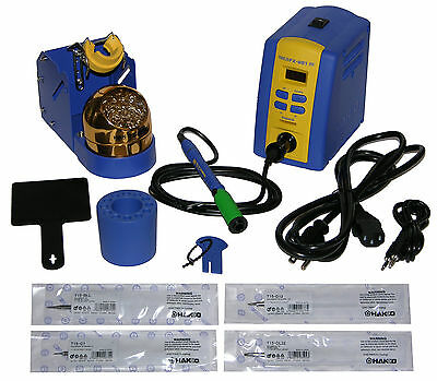 Hakko Fx951-66 Digital Soldering Station Tips T15-d12 T15-dl32 T15-c1 T15-bll