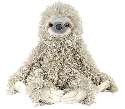 Wild Republic Three Toed Sloth 12  Plush Cuddlekins Stuffed Animal Toy New
