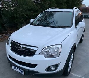 2013 Holden Captiva, with RWC and Rego Moorabbin Kingston Area Preview