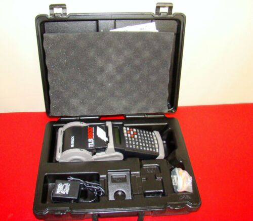 BRADY - TLS2200 - Thermal Labeling System Printer Tested with Case