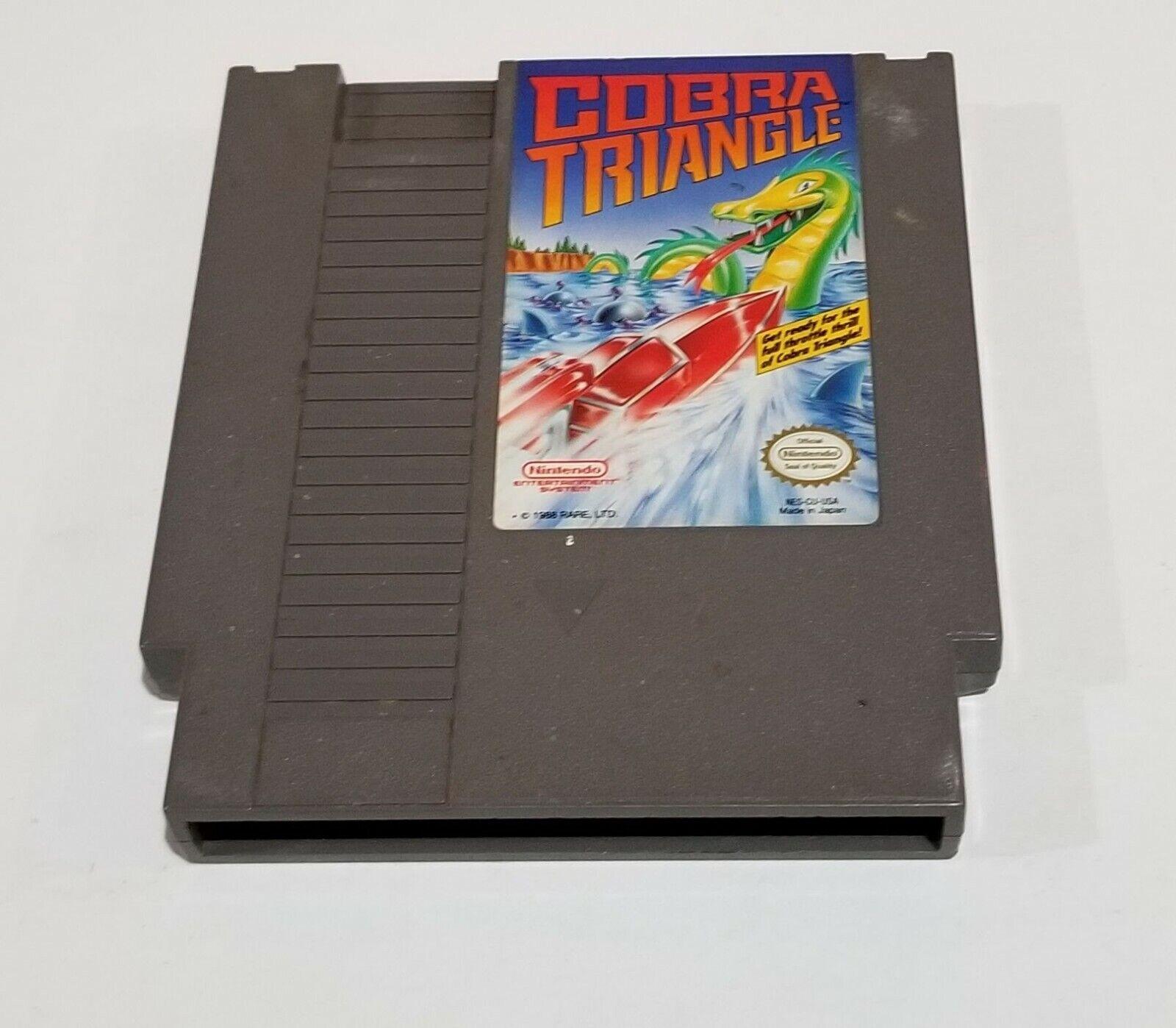 Cobra Triangle Nintendo Entertainment System, 1989  - $1.99